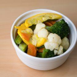 Fresh Vegetables FireBrick Peruvian Chicken