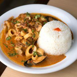 Bourbon Peruvian Chicken Dishes