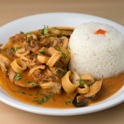 Cuisine Dishes at FireBrick Chicken