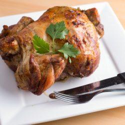 Chicken: Slow Cooked Peruvian Bourbon Chicken