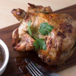 Rotisserie Cooked Peruvian Bourbon Chicken