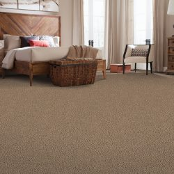Tan Carpeting Installation - First Quality Interiors Charlotte