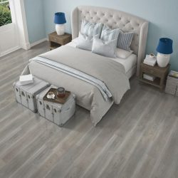 Grey Laminate Flooring Installation - First Quality Interiors Charlotte
