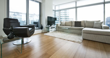 Multi-Colored Butterscotch Wood Flooring Installation - First Quality Interiors Charlotte
