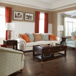 Rich Dark Cherry Wood Flooring Installation - First Quality Interiors Charlotte
