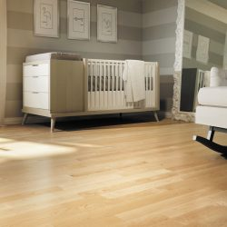 Light Maple Wood Flooring Installation - First Quality Interiors Charlotte