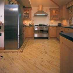 Warm Oak Wood Flooring Installation