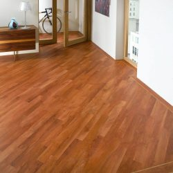 Cherry Oak Wook Flooring Installation - First Quality Interiors Charlotte