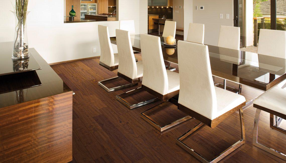 Warm Tobacco Brown Flooring Installation - First Quality Interiors Charlotte