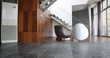 Luxury Vinyl Tile in Foyer