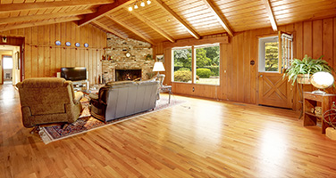 Hardwood Flooring in Barn-Style Home