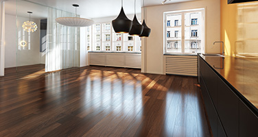 New Dark Hardwood Floors