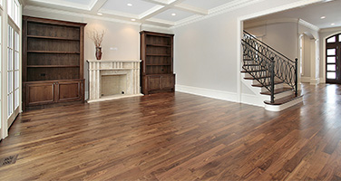New Hardwood Flooring Installation in Living Room