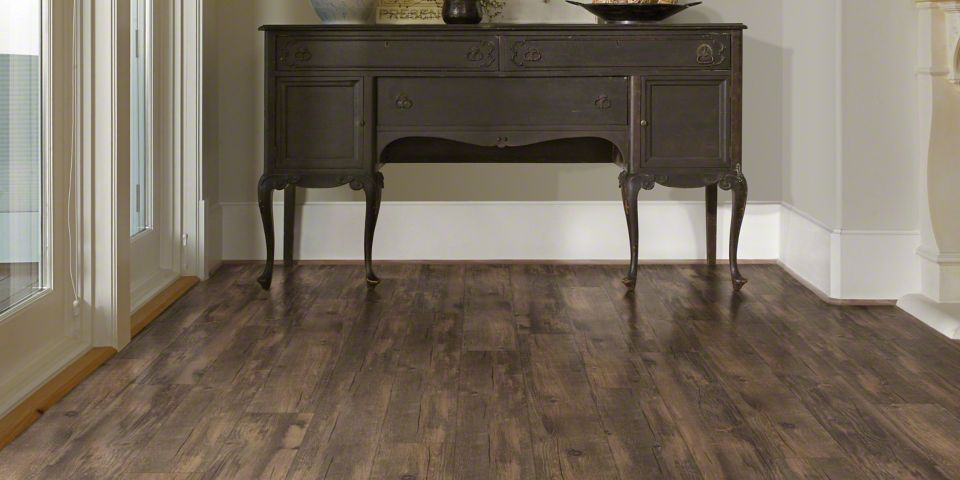 Laminate Flooring at Entryway