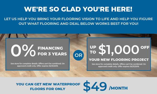 New Flooring Coupon