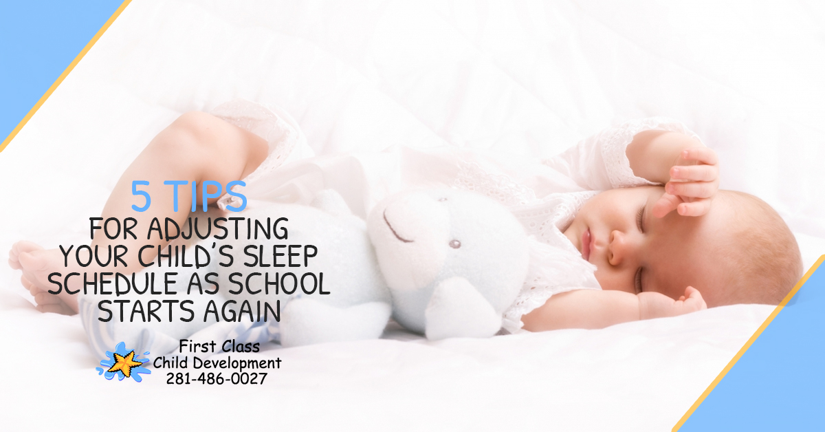 5 Tips for Adjusting Your Child's Sleep Schedule As School Starts Again - 5 Tips for Adjusting Your Childs Sleep 5bbf6ced207f4