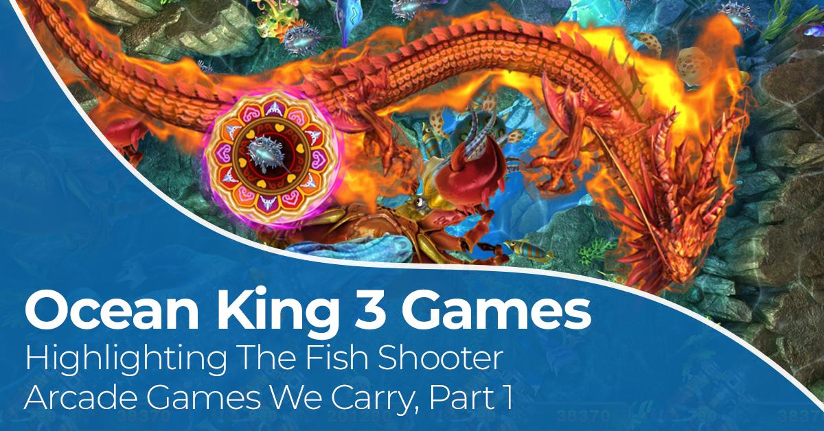 Ocean King 3 Games - Crab Avengers And Monster Awaken | Fish Game Kings