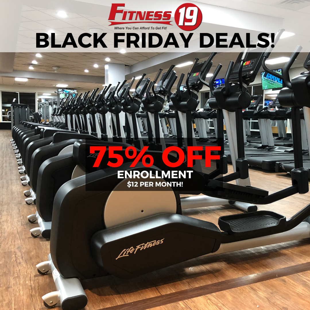 Fitness 19 Black Friday Deals in Secane, PA