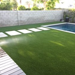 Turf Surrounding Residential Pool - Five Star Turf Commercial