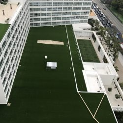 Artificial Grass on Hotel Roof - Five Star Turf Commercial