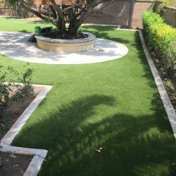 Backyard After Turf Installation - Five Star Turf Commercial