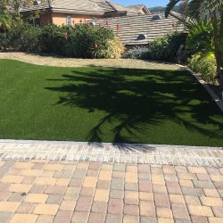 Turf Installation in Front of a Home - Five Star Turf Commercial