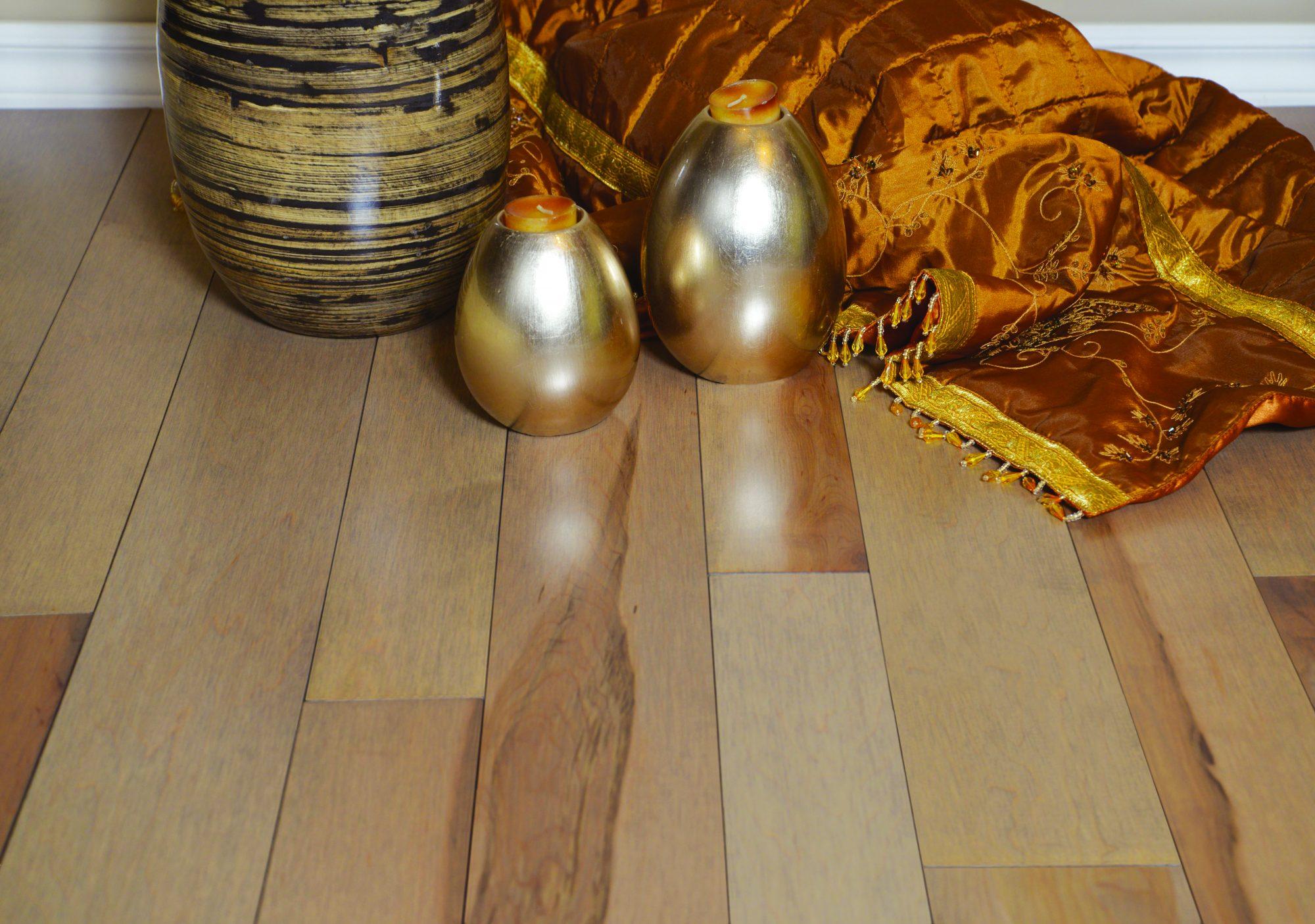 Wooden Floor Made of Maple