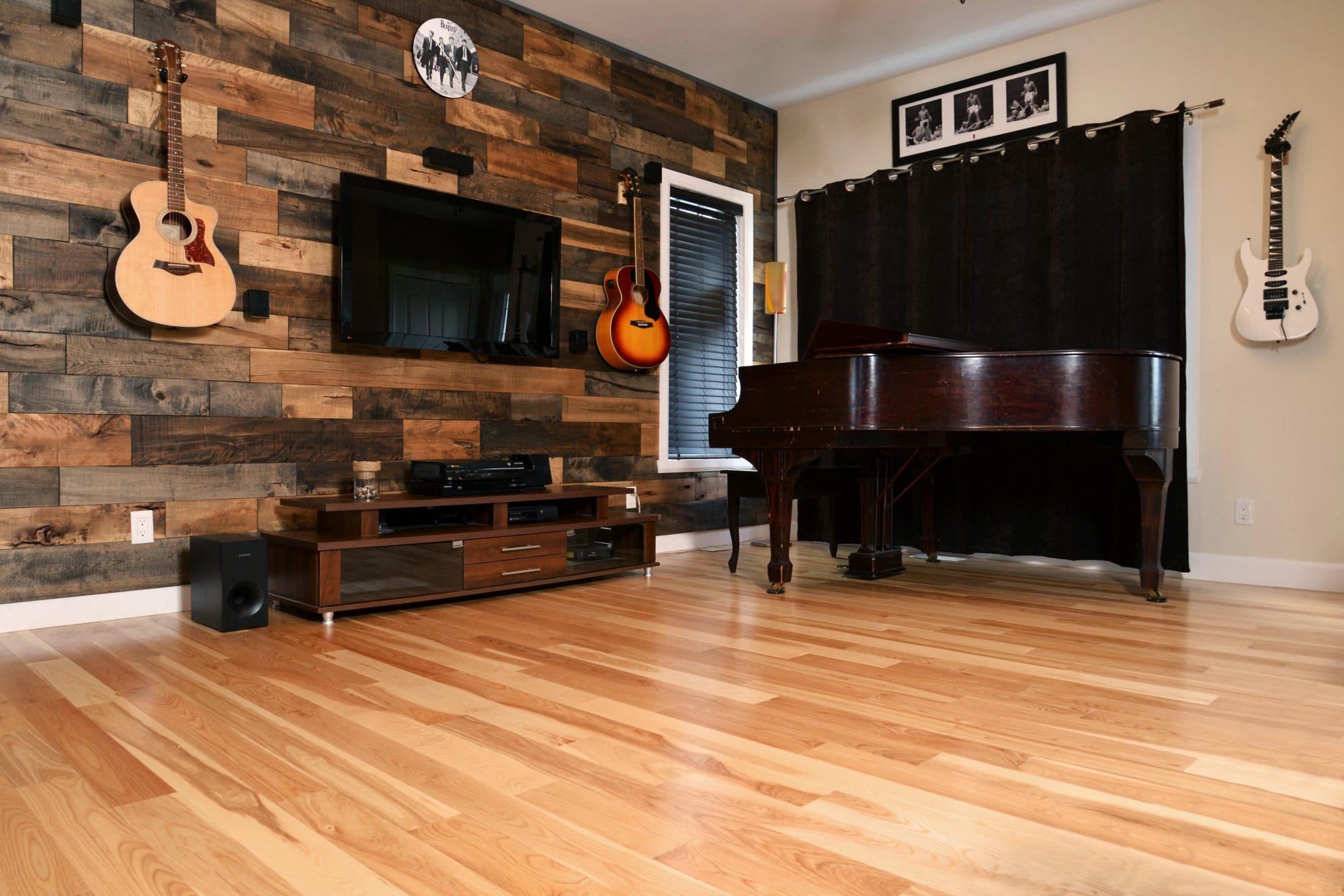 Wooden Floor Made Of Ash