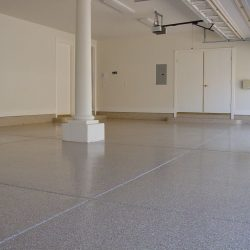 Clean epoxy garage floors by FloorEver Solutions