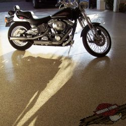 Epoxy garage floors by FloorEver Solutions in Jacksonville