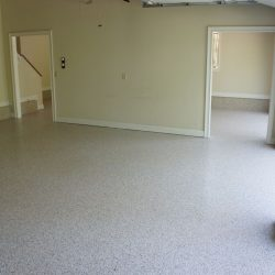 Residential Garage epoxy floor by FloorEver Solutions