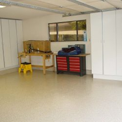 Garage floor refinishing by FloorEver Solutions in Jacksonville
