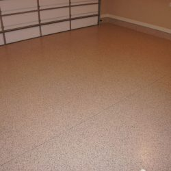 Interior garage floor refinishing by FloorEver Solutions