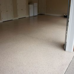 Beautiful garage epoxy flooring by FloorEver Solutions