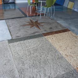 Concrete overlay by FloorEver Solutions