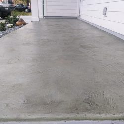 Exterior concrete overlay by FloorEver Solutions