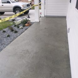 Patio concrete overlay by FloorEver Solutions