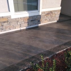 Textured concrete overlay by FloorEver Solutions