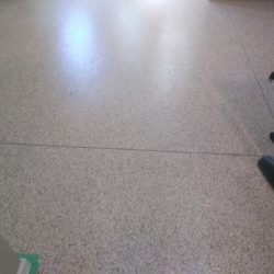 Speckled epoxy floors by FloorEver Solutions