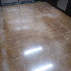 Residential polished concrete in Jacksonville
