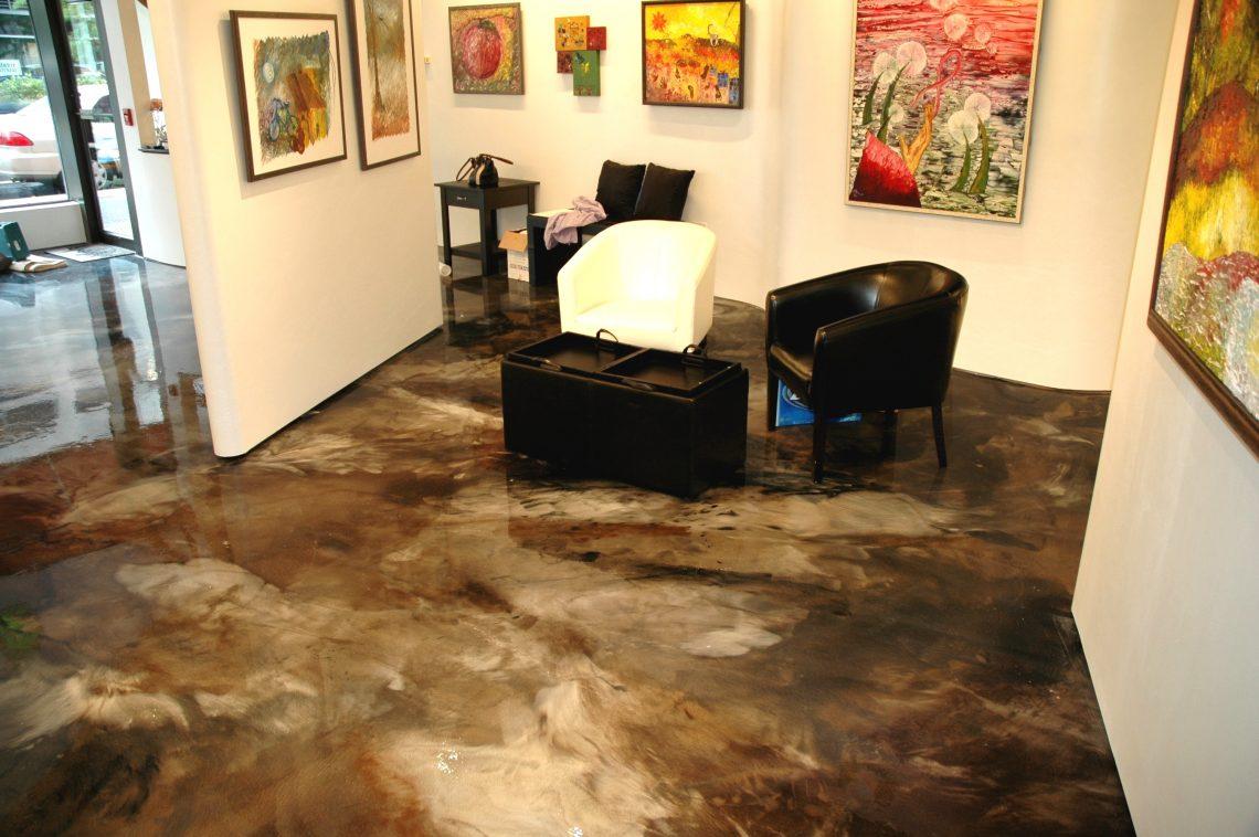 Metallic Epoxy Floor Contractor Vineland Millville Nj