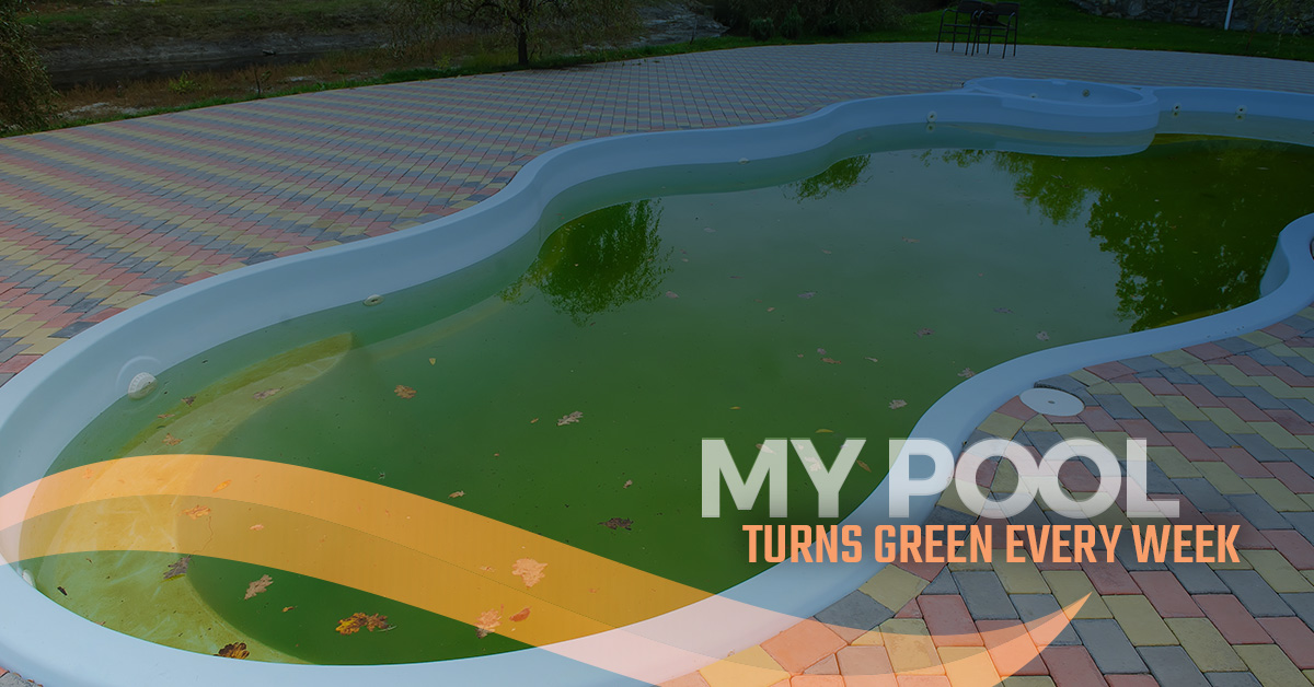 Pool Maintenance - Why Your Pool Looks Green - Florida Pool ...