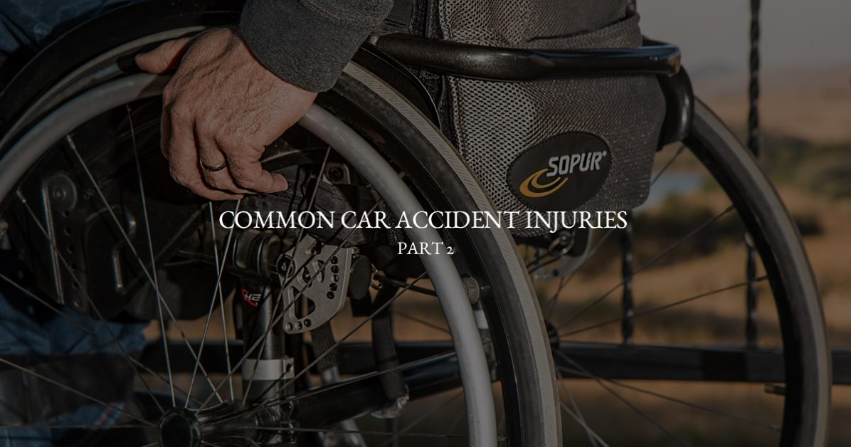 Miami Auto Injury Attorney: Common Injuries from Car