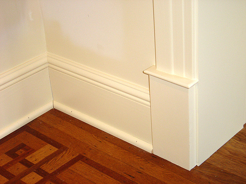 Floor Meets Wall Different Types Of Hardwood Flooring Trim