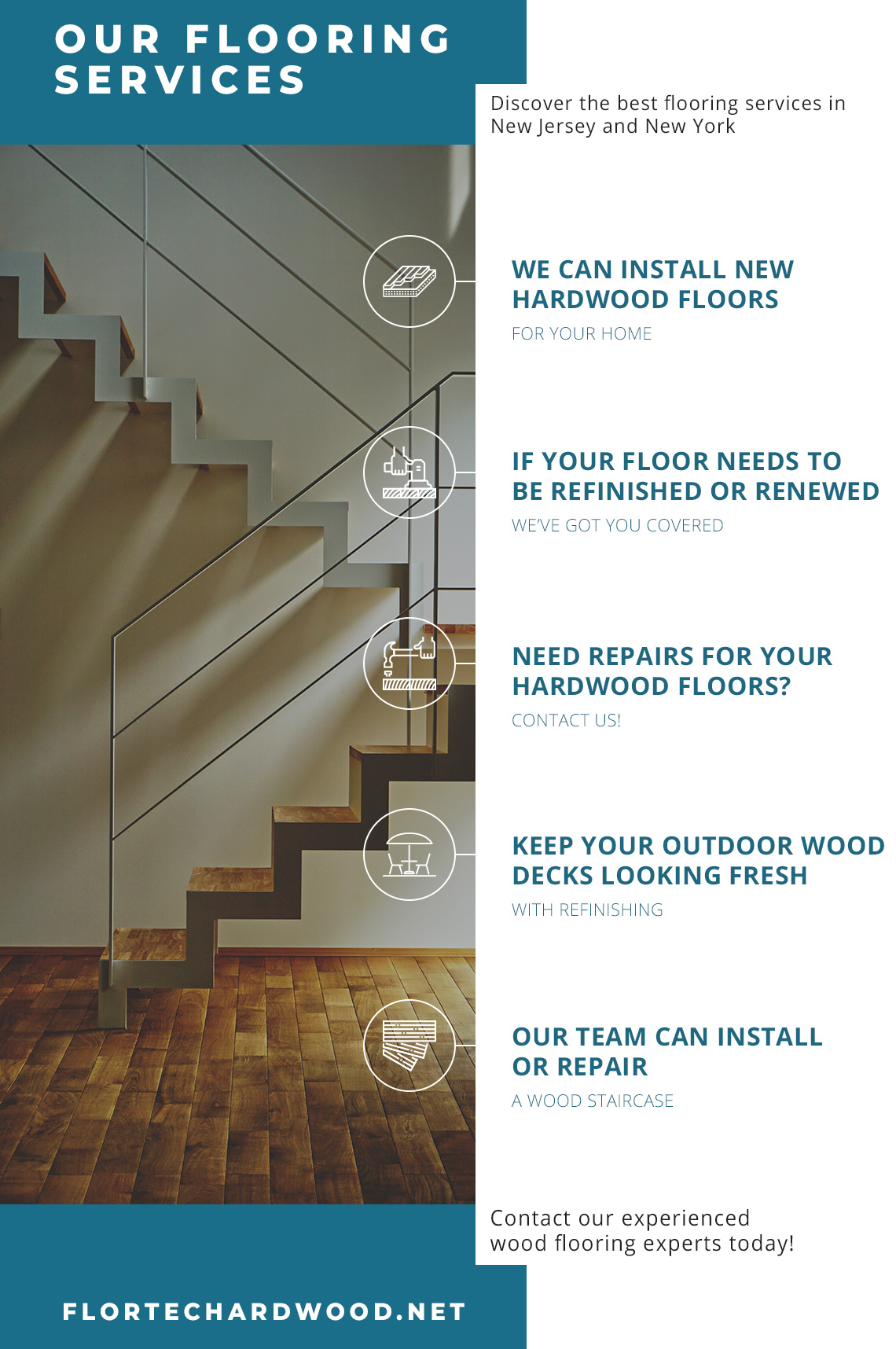 Our Flooring Services infographic
