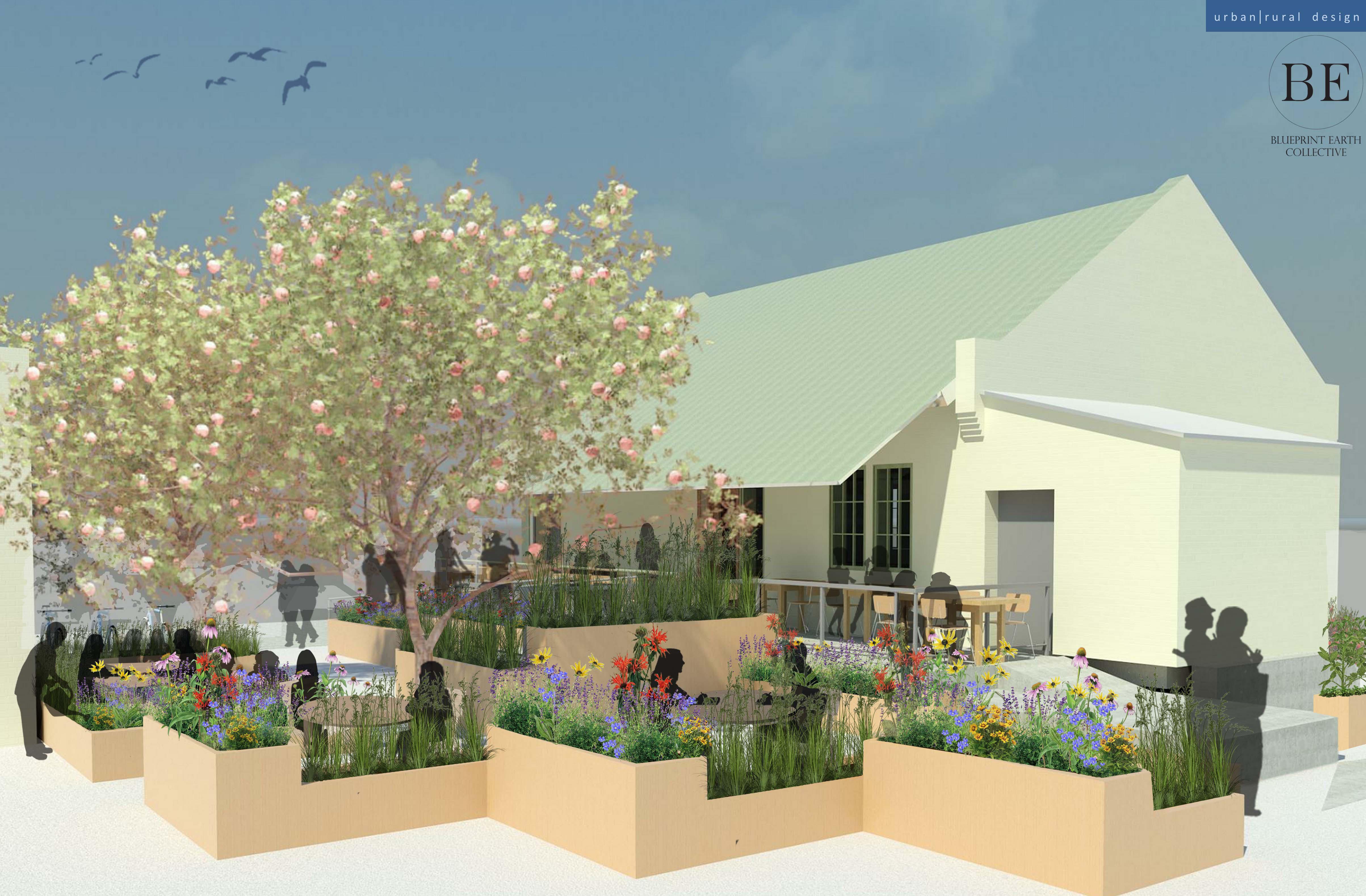 Plant It Forward Foco Cafe Outdoor Garden Project Foco Cafe