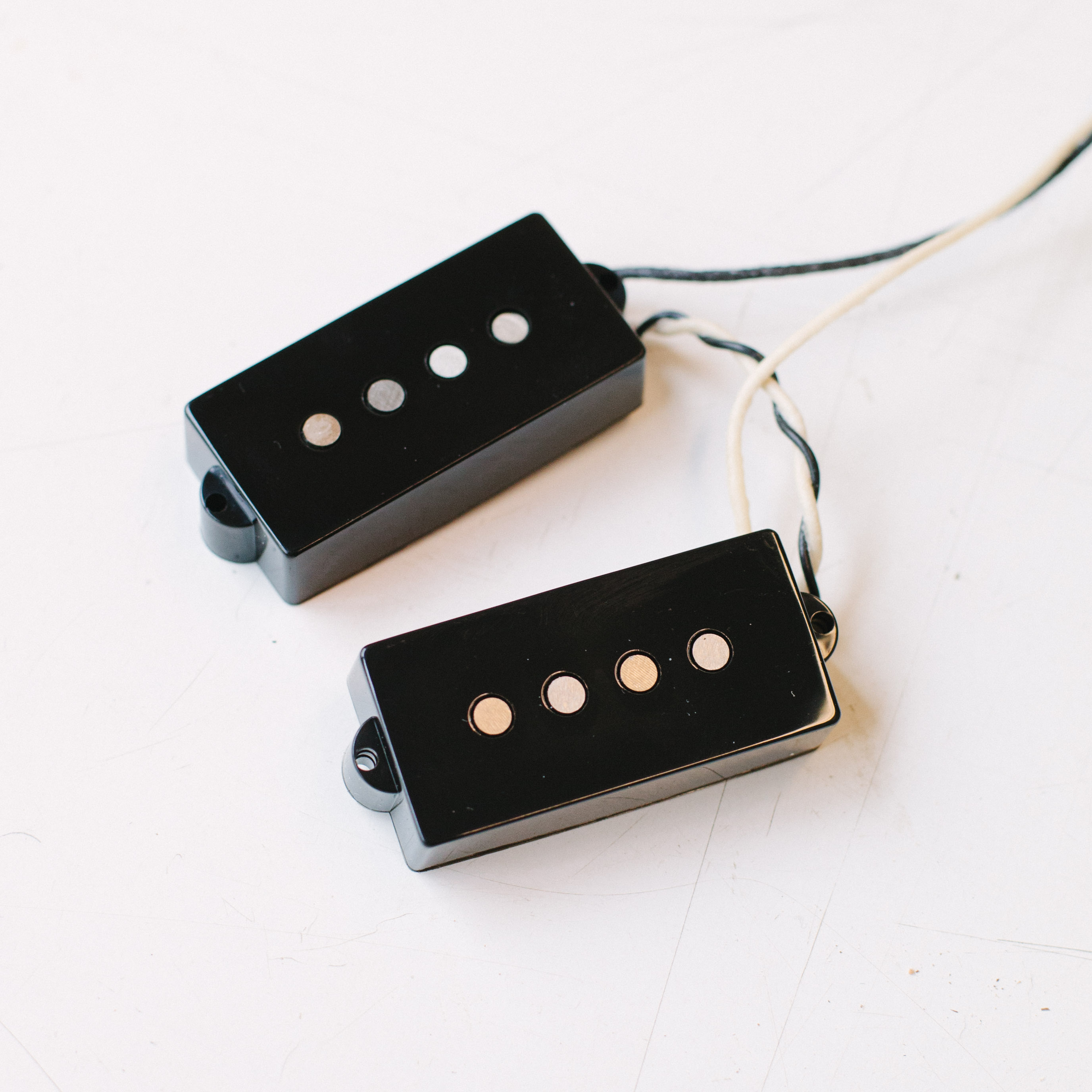 Bass Guitar Pickups Custom Shop Note These Are Passive Tone Controls Components In A Fodera Duncan Dual Coil