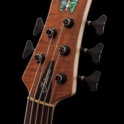 Fodera Inlay on Headstock