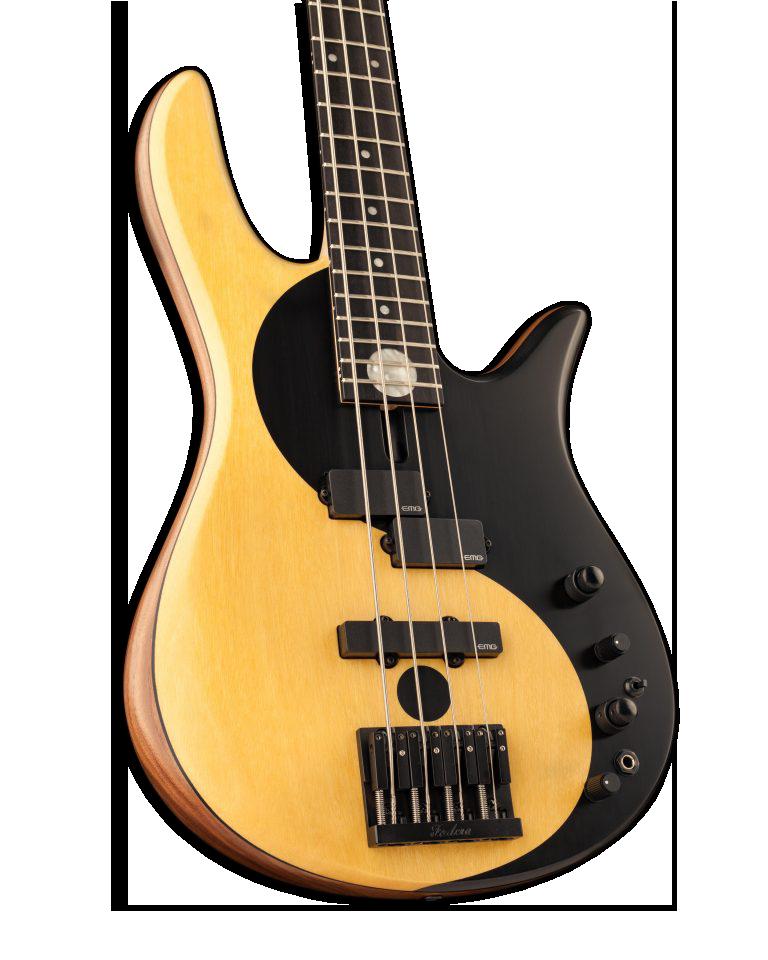 Yin Yang Four-String Bass Guitar