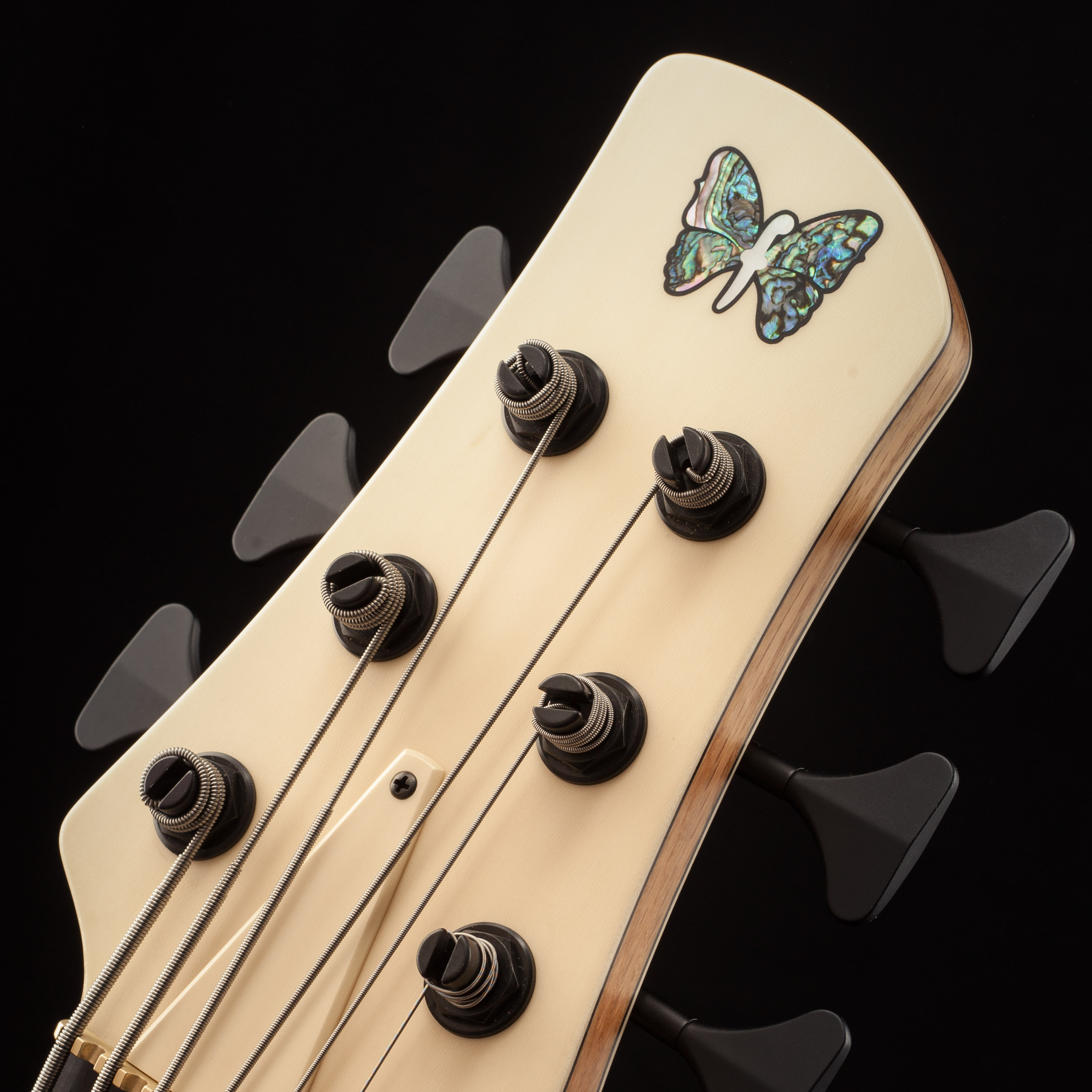 Fodera Custom Guitar Headstock Closeup